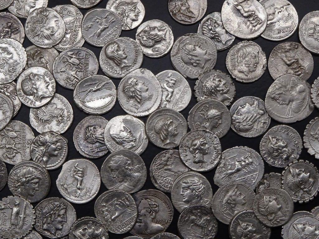 Römische Silberdenare