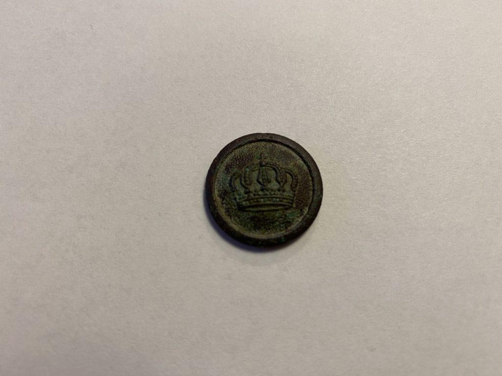 Knopf vom ersten Weltkrieg